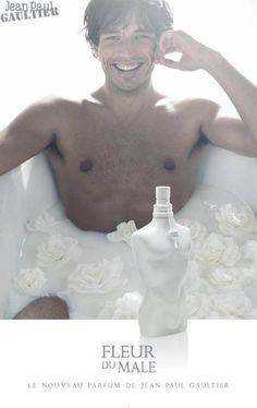 Fleur du mâle Le nouveau parfum de Jean Paul Gaultier - 2007