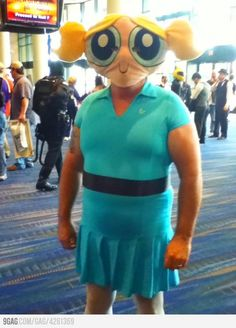 Greatest Cosplay EVER  No baddie would mess with...her?