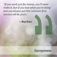 Put the customer first. www.makegreengogreen.com/tamarathimgan