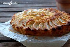 Mi gâteau, mi tarte... fondant aux pommes Gala - Cuisinons En Couleurs