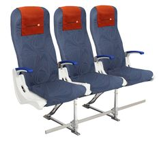 Iceland Express Airbus A320 seats.