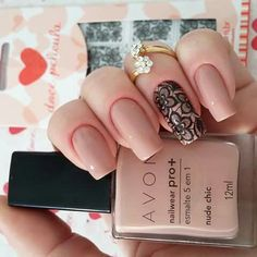 Top Amazing Nail Art Designs 2017 - style you 7 Elegant Nail Designs, Best Nail Art Designs, Elegant Nails, Cute Nails, Pretty Nails, Hair And Nails, My Nails, Avon Nails, Manicure E Pedicure
