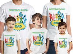 Yo Gabba Gabba Birthday Shirt Customized Name and Age Yo Gabba