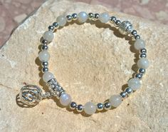 white and silver  by Justyna und Matthias on Etsy