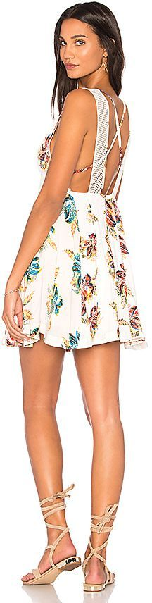 Free People Thought I Was Dreamin Mini in White. - size L (also in M,S,XS)