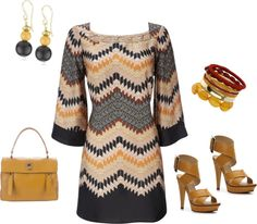 """mustard gray"" by yiannab on Polyvore"