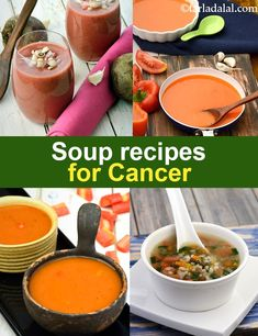 Soup recipes for Cancer, Cancer fighting soups for cancer patients meals recipe Soup recipes for Cancer, Cancer fighting soups Foods For Cancer Patients, Cancer Foods, Liver Cancer, Beat Cancer, Cancer Cells, Healthy Soup Recipes, Diet Recipes, Drink Recipe Book, Healthy Life