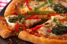 Broccoli and mozzarella pizza recipe