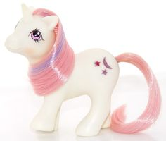 Baby Moondancer. Play and Care set pony. Year 3.
