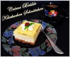Bea's Glutenfreie Speisekammer: Crème Brûlée Käsekuchen Schnittchen (glutenfrei)