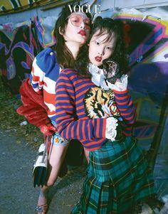 Red, Vogue Korea