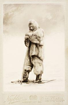 Portrait de Roald Amundsen, juin 1899