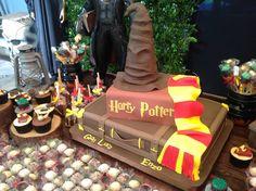 bolo festa harry potter