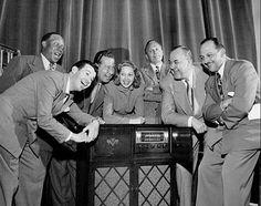 """The Cast of """"The Jack Benny Program"""""""