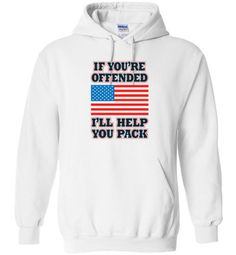 If You re Offended Hoodie - Liberty Addiction Clothing - 1 2nd Amendment b465db286