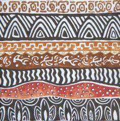 African napkin serviette No 27. African design. Ideal by Tripvis