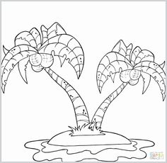 Drama Island Coloring Pages. Islands are a piece of land