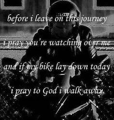 a biker's prayer, I want a tattoo like this