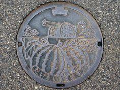 Daiei Tottori, manhole cover 4 (鳥取県大栄町のマンホール4) | Flickr - Photo Sharing!