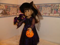 American Girl Medieval Witch costume