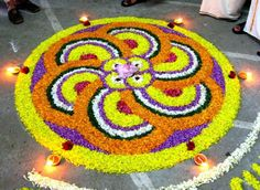 Diwali Rangoli Designs Flower Floor Decoration Wallpapers Diwali Rangoli Pattern - Diwali - Zimbio