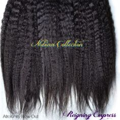 Brazilian AfroKinky Blow Out Extensions
