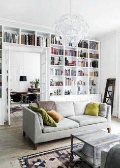 10 Inspirational Bookshelves for the Home – Seasons By Sarah