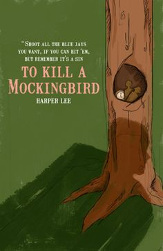 To Kill A Mockingbird Poster by silentkdesign on Etsy, $8.00