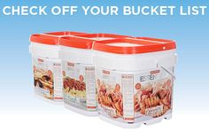 Why To Buy Emergency Food In Buckets