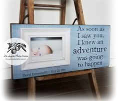 Baptism Gift Godson Goddaughter Keepsake From Godparents First Birthday Gallery Wall Frames 8x20