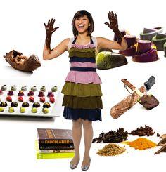 Chef Annie Rupani of Cacao & Cardamom Artisan Exotic Chocolate