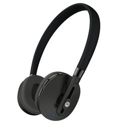 Motorola Moto Pulse Wireless Stereo Headphones Black ** Visit the image link more details. (This is an affiliate link) #BluetoothHeadphones