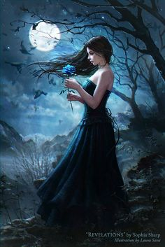 Here's a fantasy picture of Gothic dress...