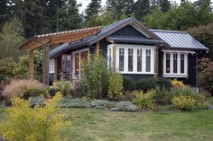 Gilann Cottage | Ross Chapin Architects-they have beautiful cottage plans with wonderful layouts