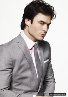 I could see him as Christian Grey, just saying... Ian Somerhalder homegrown Covington, LA native!!!