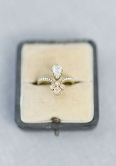 Featured Photographer: Jake and Heather Photography; Engagement ring idea;