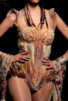 jean paul gaultier  detail  couture