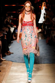 Miu Miu Spring 2014 Ready-to-Wear Collection Slideshow on Style.com- oh hey, it's penny lane coming down the runway
