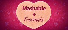 Mashable and Freemake