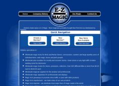 EZ Magic - Our Collectible magic tricks, vintage magic are on the peak of fame on this Earth, Get amazing magic supplies and wholesale magic jokes at our online store