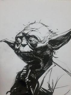 Star Wars - Yoda by Gerardo Zaffino *