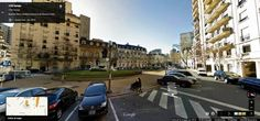 Buenos Aires Google Street View 04 La plazoleta Dr. Carlos Pellegrini sobre la calle Arroyo, en el barrio de Recoleta