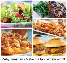 Mom in Training: It's BOGO at Ruby Tuesdays - Have dinner on me $25 Gift Card #Giveaway - Ends 9-3