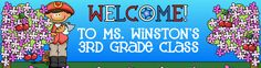I spent 2 hours becoming inspired by this website that is full of GREAT resources from other teachers.  Mrs. Winston has so many free resources for teachers.  She is AMAZING!