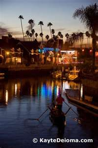 naples island gondola cruise in long beach beautiful night on a boat for two with - Naples Long Beach Christmas Lights