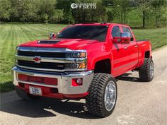 This 2017 Chevrolet Silverado 3500 HD is running American Force Fallout Fp wheels Nitto Trail Grappler tires with CST Suspension Lift suspension. Chevy Diesel Trucks, Chevy Pickup Trucks, Lifted Chevy Trucks, Toyota Trucks, Chevy Pickups, 4x4 Trucks, Custom Trucks, Ford Trucks, Chevrolet Volt