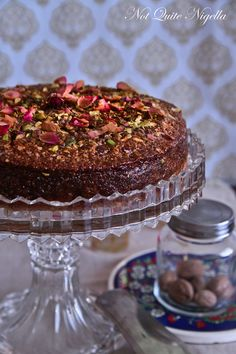 Armenian nutmeg cake. Original Recipe: http://www.aww.com.au/food/recipes/2004/4/armenian-nutmeg-cake/