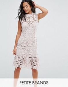 43ac0e35e8f4 ASOS | Online Shopping for the Latest Clothes & Fashion. High Neck Lace  DressLace Midi ...