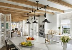 Wood in the Kitchen - Design Chic
