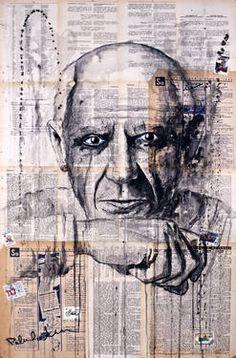 "Saatchi Art Artist Krzyzanowski Art; Painting, ""Pablo Picasso"" #art"